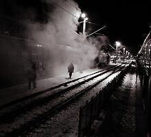 Goodbye Desolate Railyard  by hellopixel