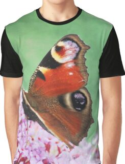 Butterfly Haze Graphic T-Shirt