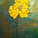 yellow flower by Dawn  Hawkins