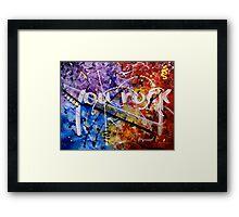 You Rock Framed Print