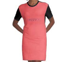 DDDDDD/I-Bra Graphic T-Shirt Dress