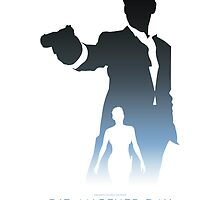 James Bond 007 Die Another Day Minimalist by dylanwest2010