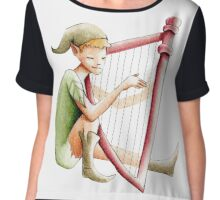 The pixie and the harp Chiffon Top