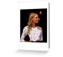 Jennifer Morrison - 1 Greeting Card