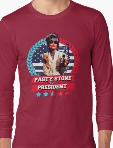 pasty for president Long Sleeve T-Shirt