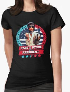 pasty for president Womens Fitted T-Shirt