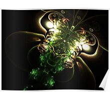 Shine - Abstract Fractal Artwork Poster