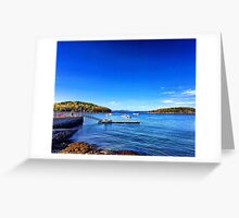 Bar Harbor, Maine Greeting Card