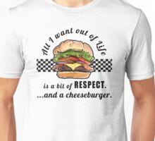 Funny Cheeseburger T-shirt Unisex T-Shirt