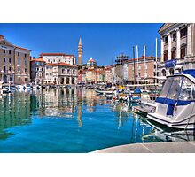 and again..PIRAN..Slovenia Photographic Print