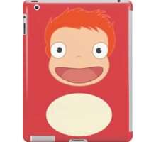 Ponyo on the Redbubble iPad Case/Skin