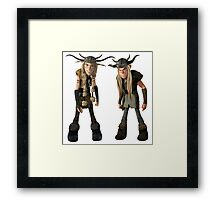 How to Train Your Dragon 14 Framed Print