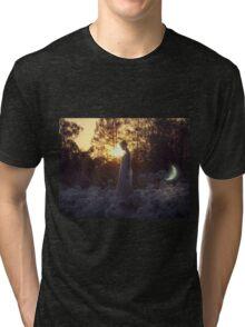 Young Pet Moon Tri-blend T-Shirt