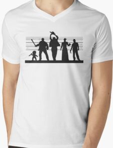 The Usual (Horror) Suspects Mens V-Neck T-Shirt