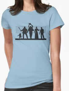 The Usual (Horror) Suspects Womens Fitted T-Shirt