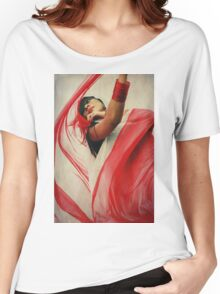 of color.  Women's Relaxed Fit T-Shirt