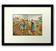 We will reap the rewards. Framed Print