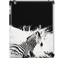 zebra love iPad Case/Skin