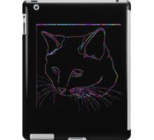 Cat Rainbow Line iPad Case/Skin