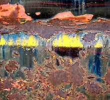 Sunrise Over the Lake Abstract by Lee Craig