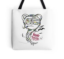 fear and loathing in Heady Thready Tote Bag