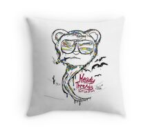 fear and loathing in Heady Thready Throw Pillow