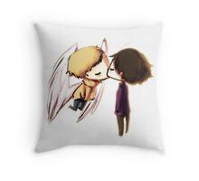 Angel!Johnlock Throw Pillow