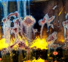 Fae and Fireworks Abstract by Lee Craig