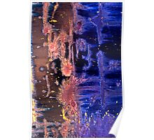 Like Day and Night Abstract Poster