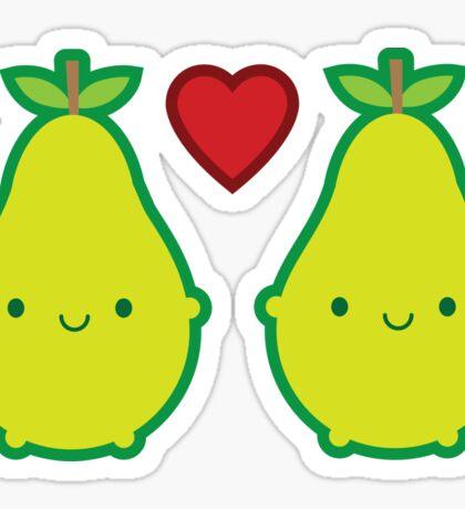 We Make A Great Pair Sticker
