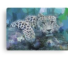 Leopard Abstract Canvas Print