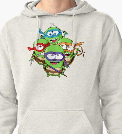 Teenage Minion Ninja Turtles Pullover Hoodie