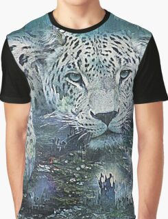 Leopard Abstract Graphic T-Shirt