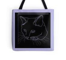 Cat Line - See Through Tote Bag