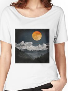 Moon Melodies Women's Relaxed Fit T-Shirt