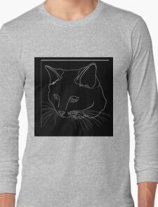 Cat Line - See Through Long Sleeve T-Shirt