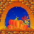 Halloween Window by VioDeSign