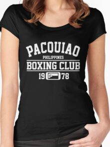 Pacquiao Boxing Club Women's Fitted Scoop T-Shirt