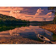 Dam Canoe... Photographic Print