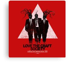 love the craft Canvas Print