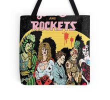 Love and Rockets hero's and villians Tote Bag
