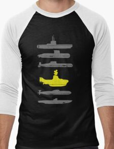 Know Your Submarines Men's Baseball ¾ T-Shirt