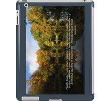 Philippians 4:8 iPad Case/Skin