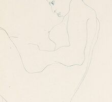 Seated nude by Bridgeman Art Library