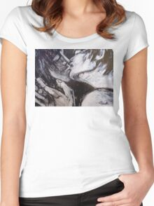 Lovers - It Started With A Kiss Women's Fitted Scoop T-Shirt