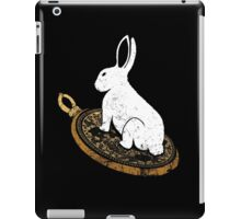 Follow the White Rabbit iPad Case/Skin
