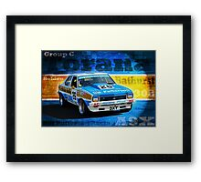 Bill Patterson A9X Torana Framed Print