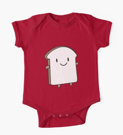 Happy Bread Slice One Piece - Short Sleeve
