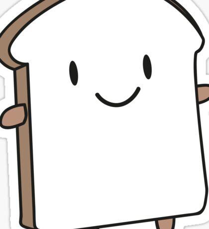 Happy Bread Slice Sticker