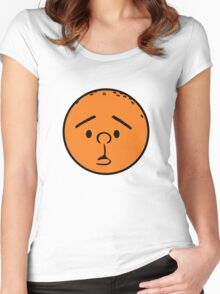 Karl Pilkington - Head like a fucking orange! Women's Fitted Scoop T-Shirt